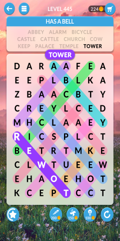 wordscapes search level 445