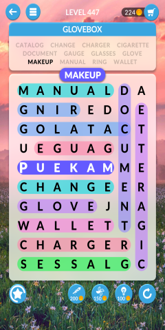 wordscapes search level 447