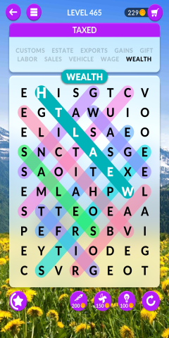 wordscapes search level 465