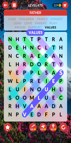 wordscapes search level 475