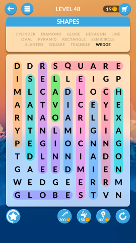 wordscapes search level 48