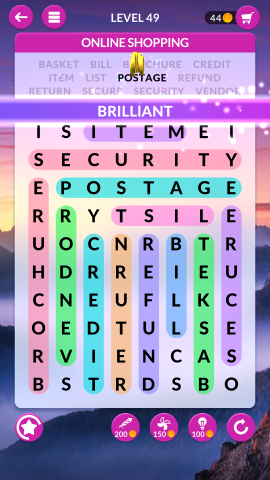 wordscapes search level 49