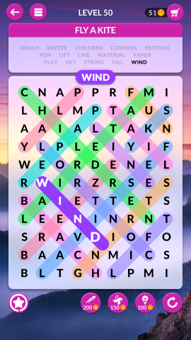 wordscapes search level 50