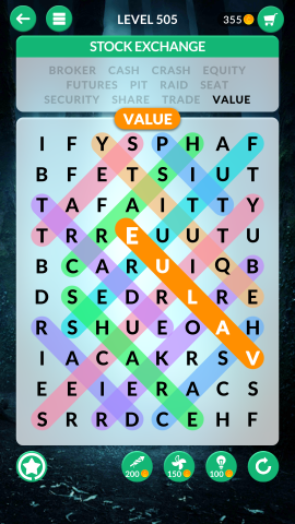 wordscapes search level 505