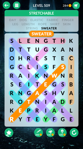 wordscapes search level 509