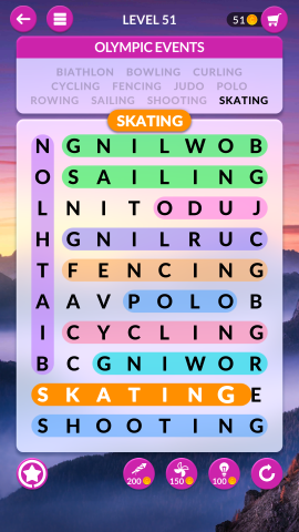 wordscapes search level 51