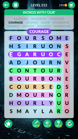 wordscapes search level 513