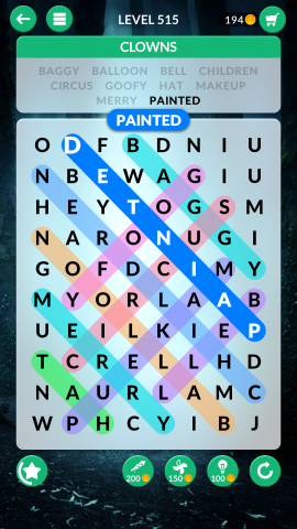 wordscapes search level 515
