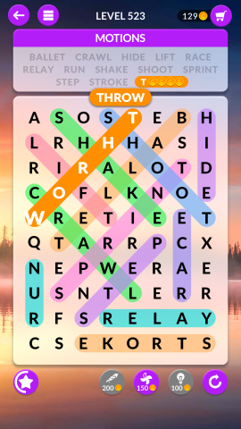 wordscapes search level 523