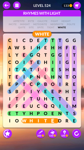 wordscapes search level 524