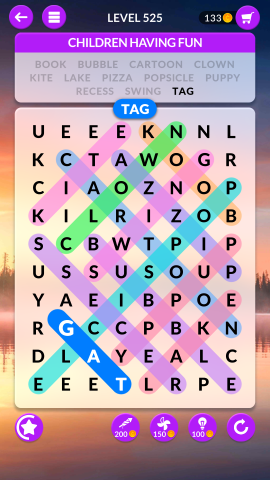 wordscapes search level 525