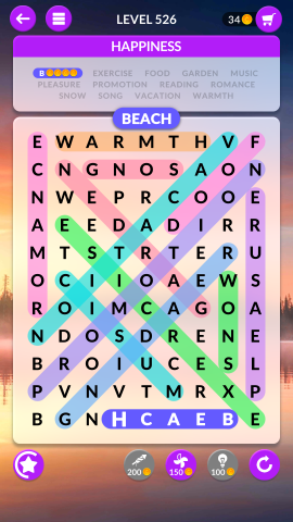 wordscapes search level 526