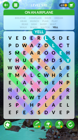 wordscapes search level 530