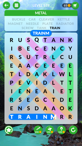 wordscapes search level 539