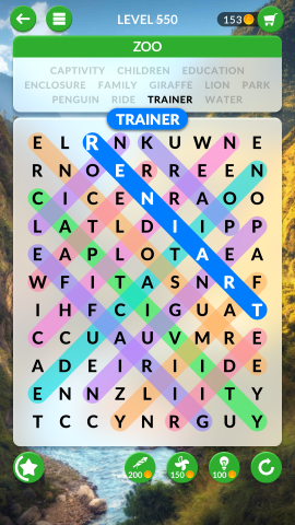 wordscapes search level 550