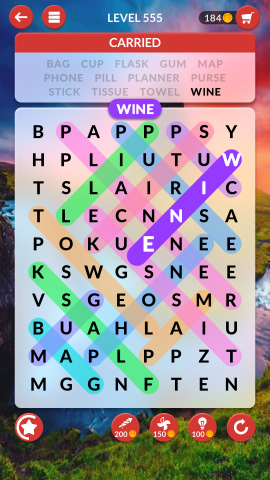 wordscapes search level 555