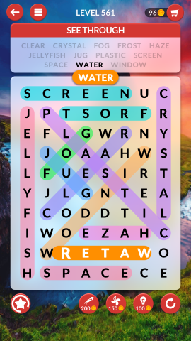 wordscapes search level 561
