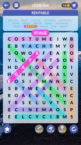 wordscapes search level 568