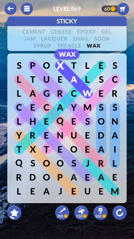wordscapes search level 569