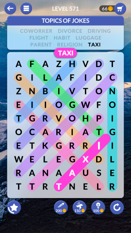 wordscapes search level 571