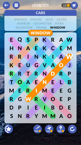 wordscapes search level 575