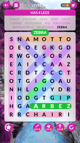 wordscapes search level 579