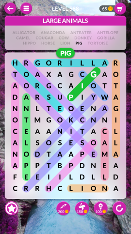 wordscapes search level 588