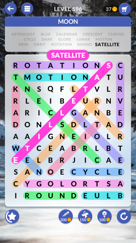 wordscapes search level 596