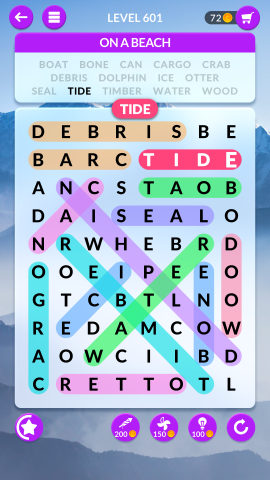 wordscapes search level 601