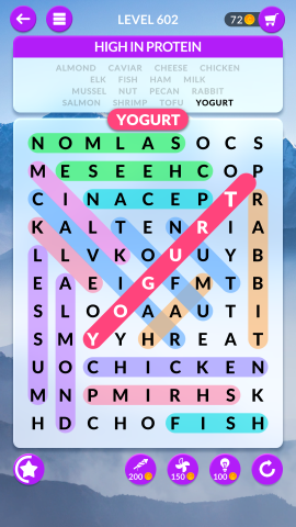 wordscapes search level 602