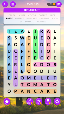 wordscapes search level 613