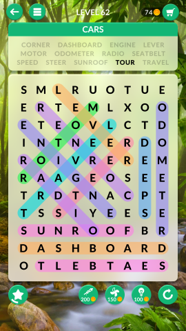 wordscapes search level 62