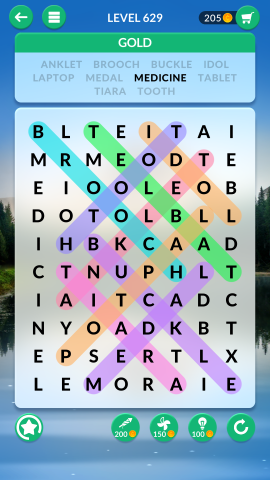 wordscapes search level 629