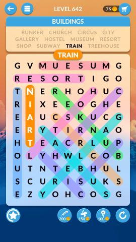 wordscapes search level 642