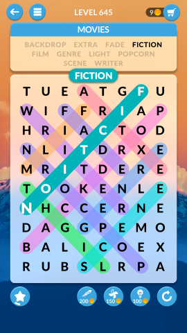 wordscapes search level 645