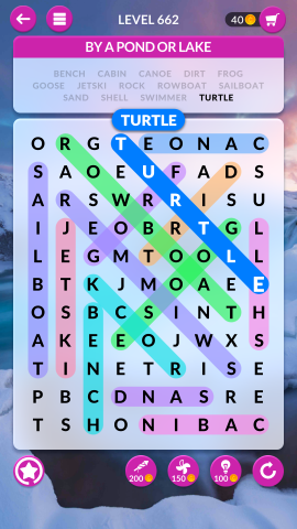 wordscapes search level 662