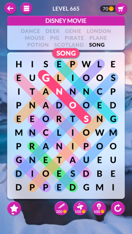 wordscapes search level 665