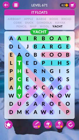 wordscapes search level 671