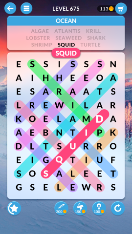 wordscapes search level 675