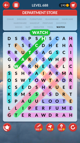 wordscapes search level 688