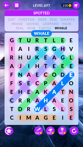 wordscapes search level 697