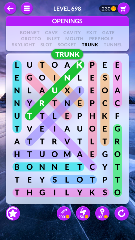 wordscapes search level 698