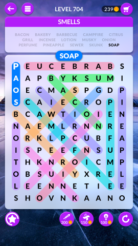 wordscapes search level 704