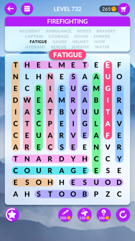 wordscapes search level 732