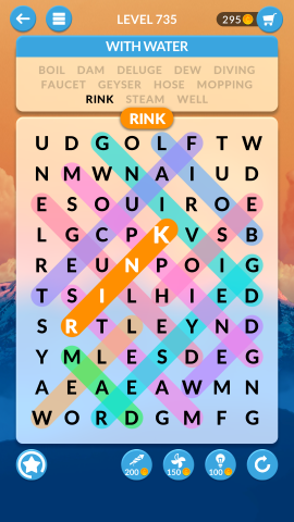 wordscapes search level 735