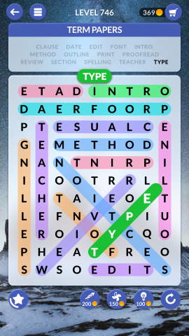 wordscapes search level 746