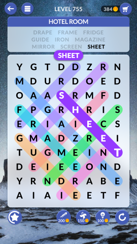 wordscapes search level 755