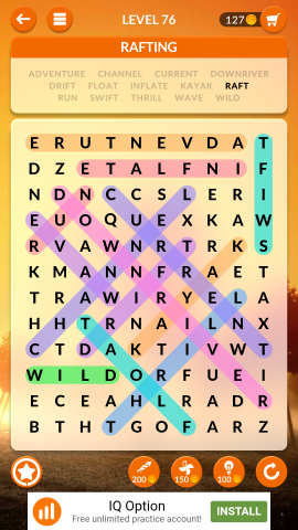 wordscapes search level 76