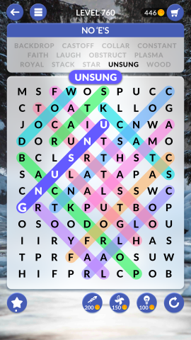 wordscapes search level 760