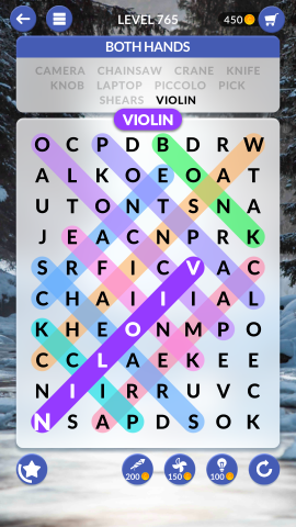 wordscapes search level 765